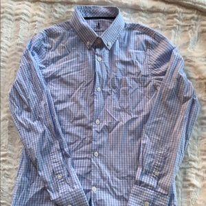 Johnnie O prep-performance gingham shirt